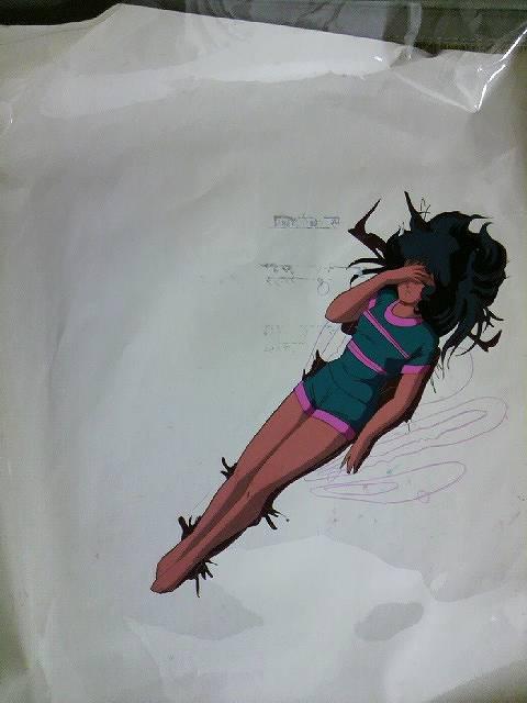 マクロス「リン・ミンメイ」セル画
